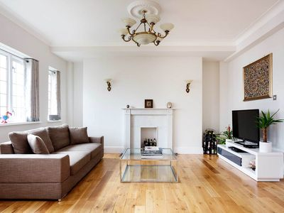 Photo for 3 minute walk to St. John's Wood tube! Spacious 2 bed apartment for 4 (Veeve)