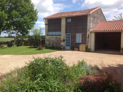 Photo for Barn conversion with swimming pool set in the Anjou region of the Loire valley