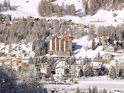 Photo for One bedroom Apartment, sleeps 2 in Davos with Pool and WiFi