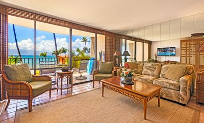 Photo for OCEAN FRONT and Newly Remodeled ~1 bedroom in Kahana w/full Kitchen-Free Parking