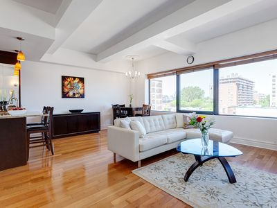 Photo for Luxury Down Town bright condo appartment, big, panoramic 6 floor
