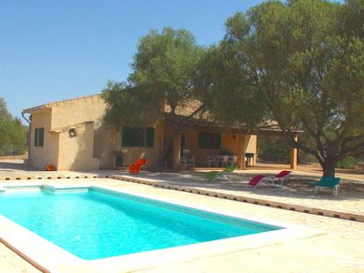Photo for Friendly country house-quiet and rustic, private pool, sun terrace, wifi, TV