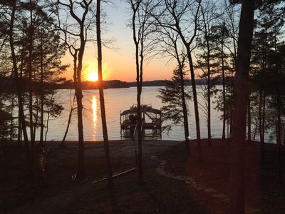 Photo for Fantastic South end of Lake Lanier with amazing lake views from every room!