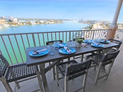 Photo for Top Floor Privacy, End Unit Penthouse, Best in Building! Brand New in 2019 – Harborview Grande #807