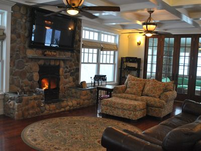 Photo for Enjoy The Privacy Of The Manor Located In Sag Harbor