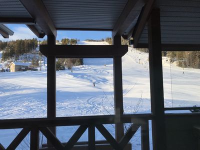True amazing Ski in / Ski Out just from your Back door!