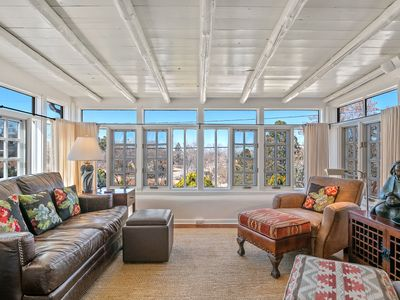 Photo for Magnificent Sunlit Home, Walk to Plaza and Canyon Road, Intimate Retreat