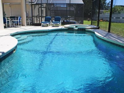 Photo for 4BED - PRIVATE POOL - NEAR DISNEY