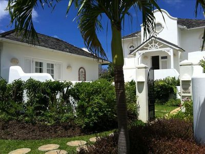 Photo for Beautiful Sea View Villa w. tennis, pools and gym. St James Parish.