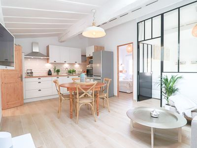 Photo for Rare ! 2019 Renovated Luxury Loft in Old Antibes 300 m from the beach