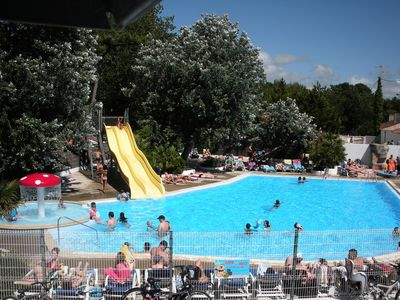 Photo for Camping Jardins de l'Atlantique **** - Nine arrival Sunday (between 0 and 5 years)