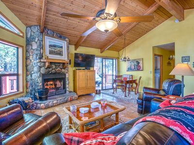 Photo for Grab your dog and your jacket! Amazing cabin...book now and enjoy cool weather!