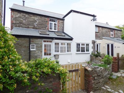 Photo for MOORINGS, family friendly, with open fire in Tintagel, Ref 1001534