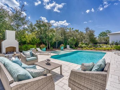 Photo for Luxury Seacrest Home with Private Pool, Pet Friendly, 3 Minute Walk to Beach!