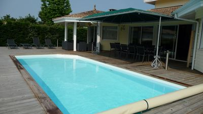 Photo for ROCHER: BEAUTIFUL VILLA WITH HEATED POOL (12 people)