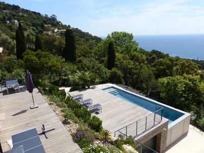 Photo for New villa with pool and superb views of the Golden Islands