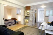 Beautiful old town centre apartment with a charming garden