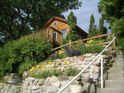 Photo for Small Cottage.... Huge  Lake Views!