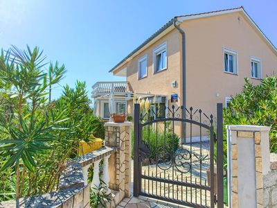 Photo for Large and comfortable holiday home  with private pool in Linardici, Island Krk, Croatia for 7 persons