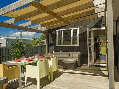 Photo for Relax on Riverview - Whangamata Holiday Home