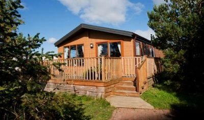Photo for Firtree -  Luxurious Hot Tub lodge 4 Guests - Pet Free