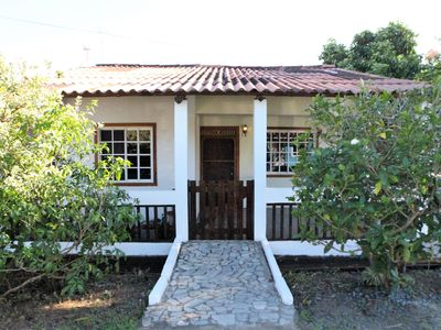 Photo for Adorable two bedroom home with fenced yard and garage in Pedasi