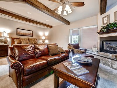 Photo for Luxury Studio w/ King and Lots of Room -Next to the Gondola, Hiking and Biking