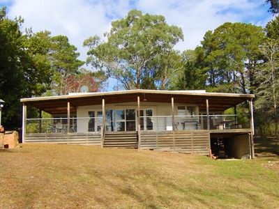 Photo for Private & tranquil waterfront house & property in Eildon's exclusive Taylor Bay