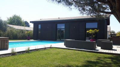 Photo for Luxury villa for 12P (14 possible) on the Bassin d'Arcachon
