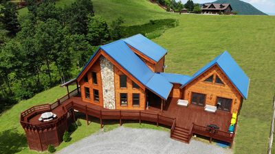 Photo for Mtn View Luxury Lodge for Company Retreats & Family Reunions near Mayberry
