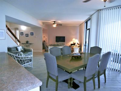 Photo for Incredible views from 7th floor luxury condo, our home away on SPI.