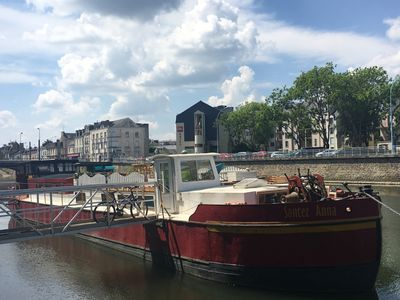 Photo for Beautiful houseboat in the heart of Le Mans