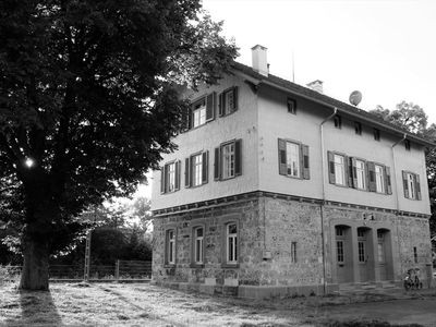 Photo for historic railway station, apartment in the renovated and refurbished monument, Bahnhofsg