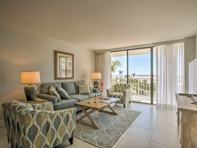 Photo for Oceanfront Marco Island Condo w/Pool & Gulf Views!