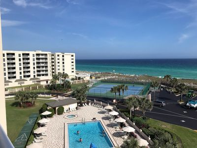 Photo for Unit 609 - Gulf View! East Pool View! Platinum Unit!