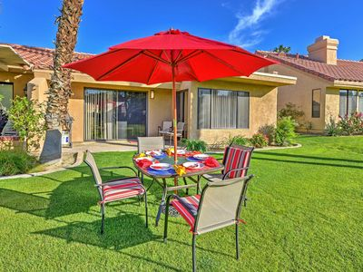 Photo for Chic Palm Desert Condo at Golf Course!