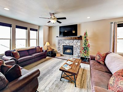 Photo for Stylish 3,100 Square Foot Townhome w/ Pool & Spa - 12 Minutes to Park City