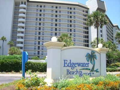 Photo for Remodeled Yet Affordable Edgewater Tower 1 Oceanfront 2BR/2BA Aug Discount Avail