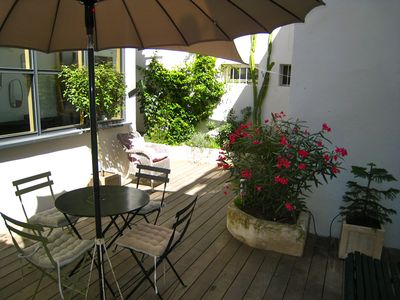 """Photo for """"StellaHome - The Hidden Court"""" Sanary village, Parking & Clim + South Court"""