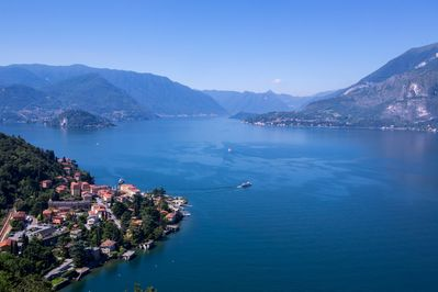 Lake Como seen from the residence