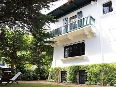 Photo for Stunning basque Villa in the center of Biarritz