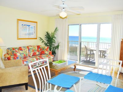 Photo for Direct Ocean View from this 3rd Floor, Easy access to pool, Beach Service -Gd214