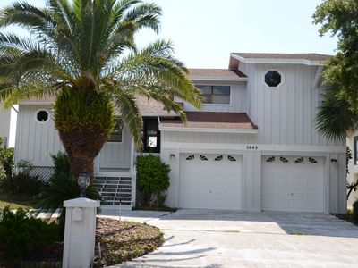 Photo for Gulf Front Key West Style Getaway + Dock, 3 BR/2BA