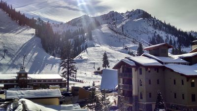 Photo for Village at Squaw Valley, Ski In, Ski Out, Quiet with the best top floor views