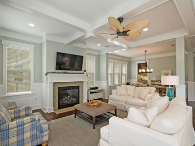 Photo for Seagrove Beauty! 4 BR - pool, beach shuttle, bikes!