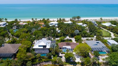 Photo for Island Paradise: Gorgeous Home w/ Pool in Quiet Neighborhood Steps to Beach!