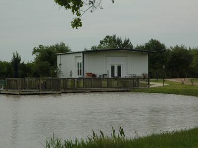 Photo for Fishing & shooting range. Private 10 acres, 1200 sq' house, pond, barbecue pit