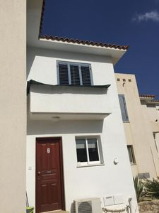 Photo for Modern 2 bedroomed Poolside Townhouse at Desire Gardens Peyia.