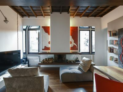 Photo for IN Trastevere Loft with Pool