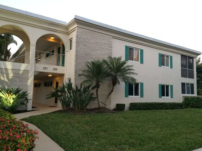 Photo for Olde Naples- Large 2BR, 2 bath- Best Location! Just 2 Blocks to Beach & 5th